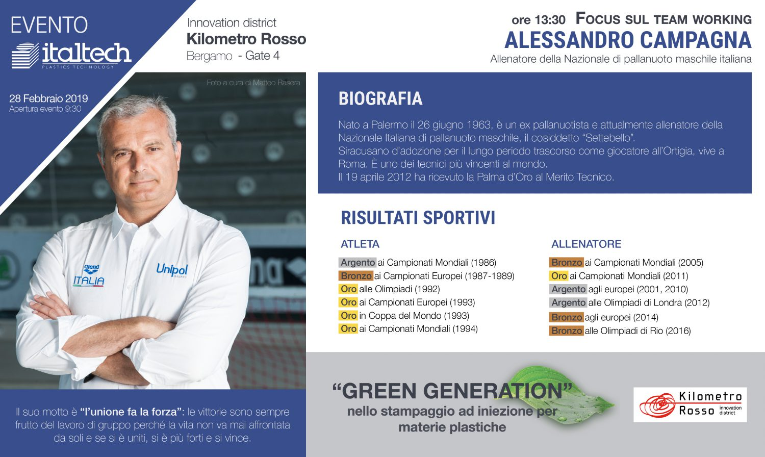 Alessandro Campagna: focus sul team working